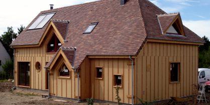 La maison à ossature bois, pour le confort du bois