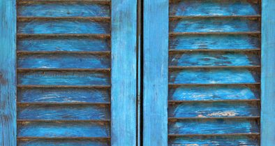 Rénovation de volets anciens en bois
