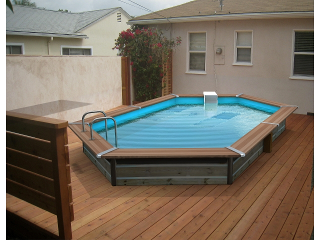 Les piscines hors sol simplicit d 39 installation et co t for Cout installation piscine