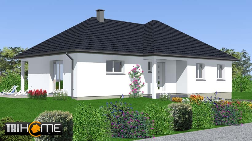 Maison plain pied a batir ventana blog for Construire une maison de 85m2
