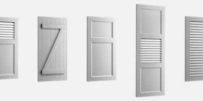couleurs des volets battants cr pi maison mag maison. Black Bedroom Furniture Sets. Home Design Ideas
