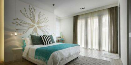 Décoration textile : la couleur turquoise à l'honneur