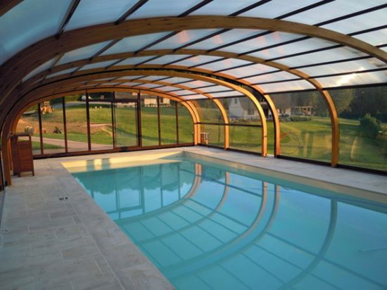 G te de france en images photos beaux g tes mag maison - Gite normandie piscine interieure ...