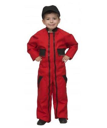 combinaison exterieur rouge enfant