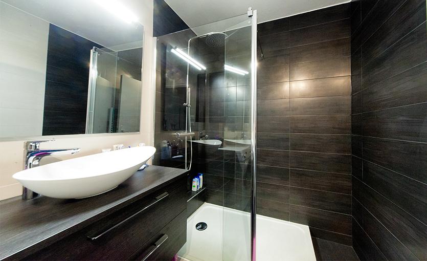 petite salle de bain douche