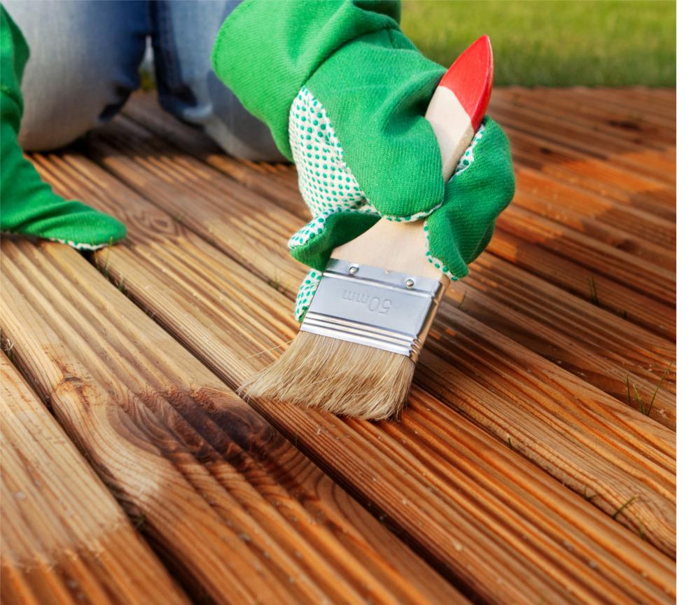 application huile bois terrasse