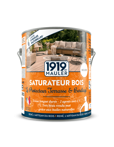 Saturateur bois protection terrasse bardage Mauler