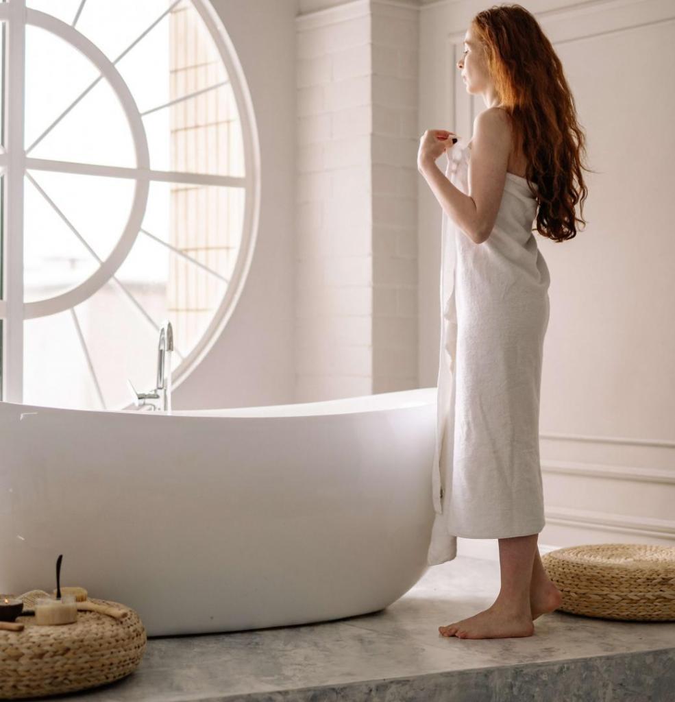 Tendance baignoire ilot